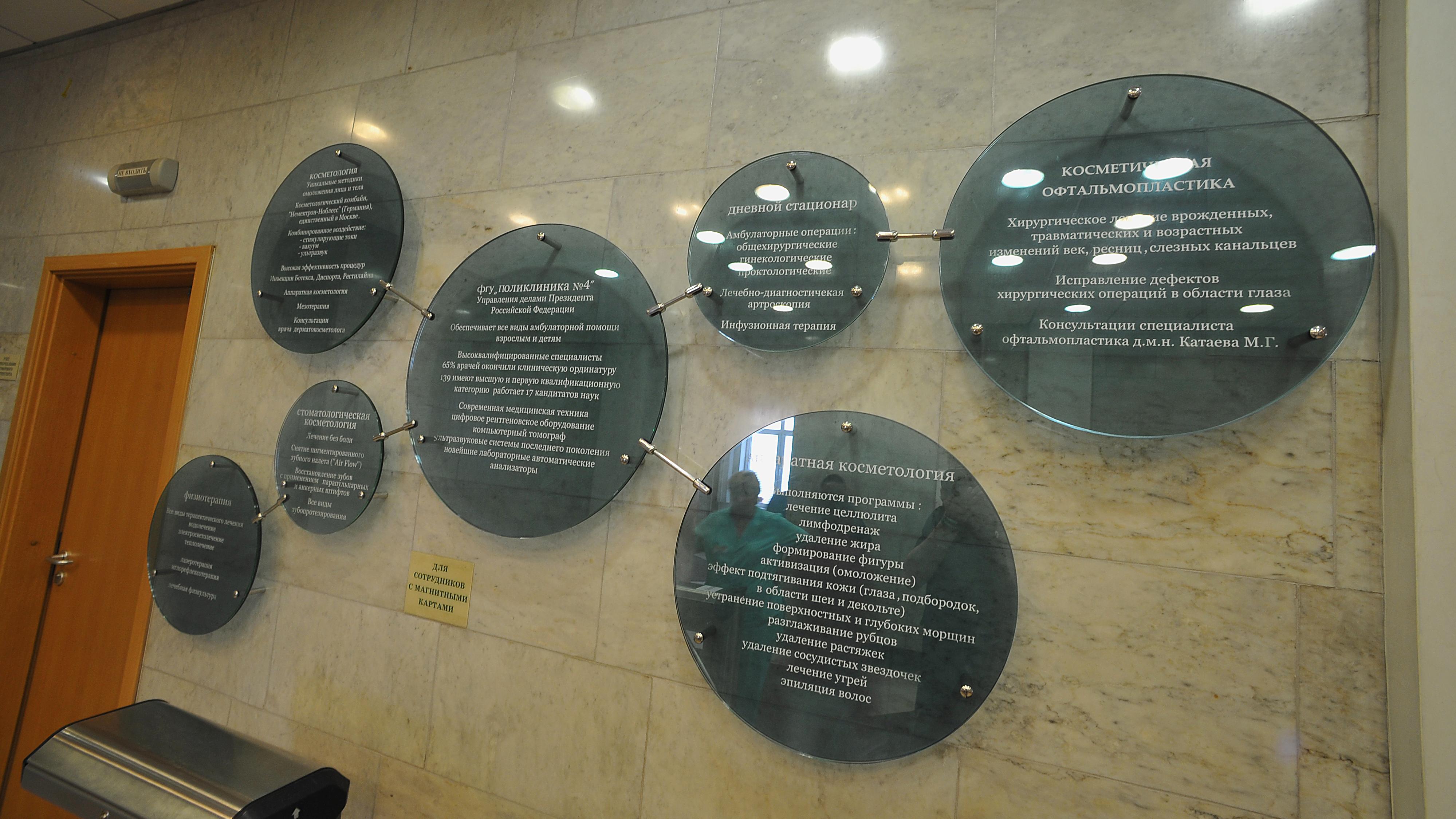 Медицинские профили учреждения