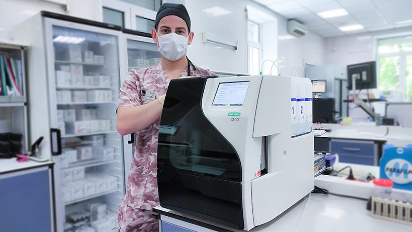 Новый автоматический анализатор D-10 (Bio-Rad) для исследования уровня гликированного гемоглобина