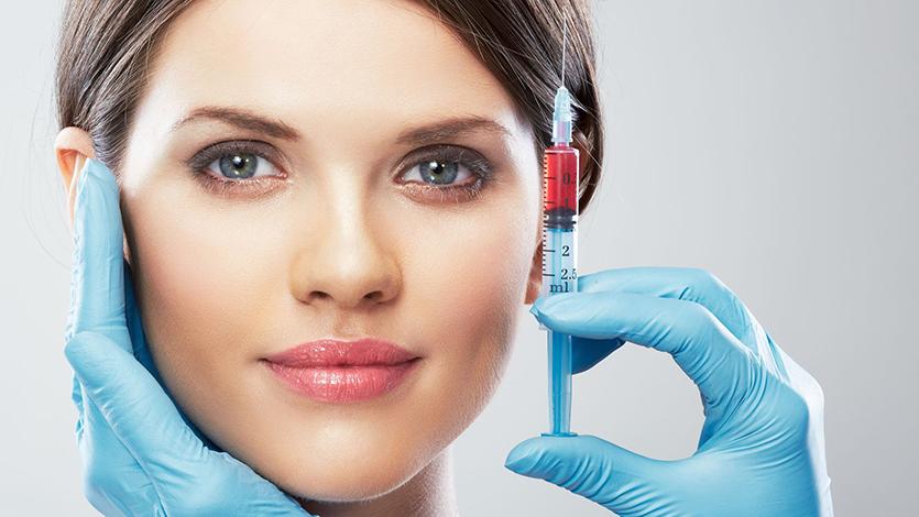 В косметологическом кабинете доступны все виды плазмотерапии